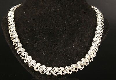 Unique Collection Chinese Tibetan Silver Necklaces Collarbone Chains Ladies Gift