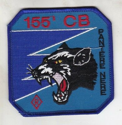 Org Patch:  155i Gruppo Caccia Bombardieri Pantere Nere Italian Air Force