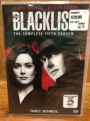 The Blacklist: The Complete Fifth Season 5 (Brand New, DVD, 5-Disc Set)