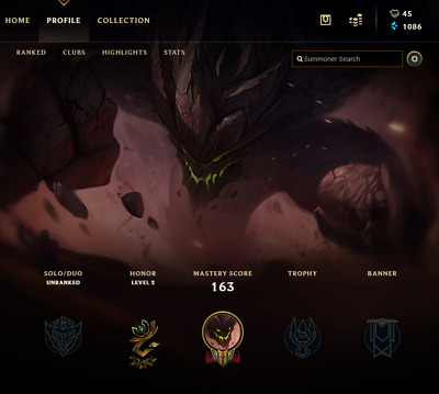 League of Legends Account | LOL | NA | 30 LV | Unranked | 75 Champ 11 skins
