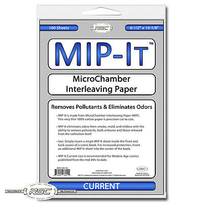 100 - MIP-It Current - MicroChamber Interleaving Paper for Current Comics