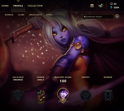 League of Legends Account | LOL | NA | 34 LV | Silver IV | 50 Champ 7 skins