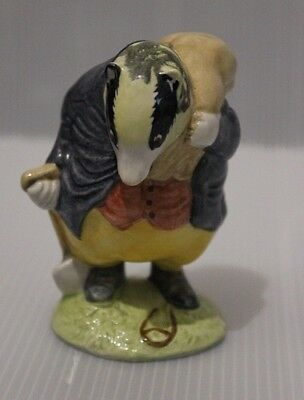 "Beswick Beatrix Potter Figure ""  Tommy Brock "" Bp10"