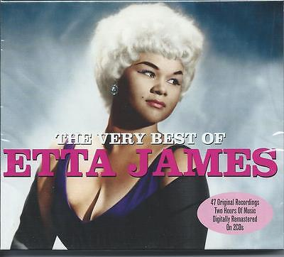 Etta James - The Very Best Of - Greatest Hits 2CD NEW/SEALED
