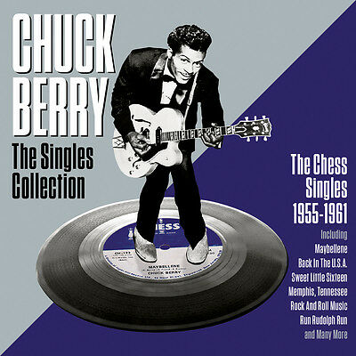 Chuck Berry - The Singles Collection - Best Of / Greatest Hits 2CD NEW/SEALED
