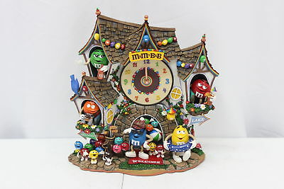 The Danbury Mint M&M's Bed and Breakfast Collectible Clock