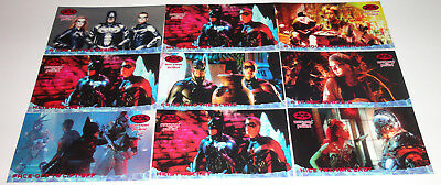 BATMAN AND ROBIN MOVIE 1997 FLEER/SKYBOX 70 BASE CARD Complete SET DC