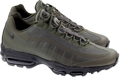 free shipping 15083 db84e Nike Air Max 95 Ultra Essential Men s Running Trainers 857910-301 RRP  £134.95