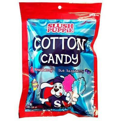 Slush Puppie Cotton Candy Strawberry and Blue Raspberry 12-1 OZ Packages