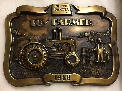 Belt Buckle - Toy Farmer - Limited Edition - 1986 - collector