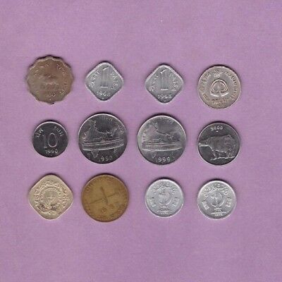India & Pakistan - Coin Collection Lot - World/Foreign/Asia