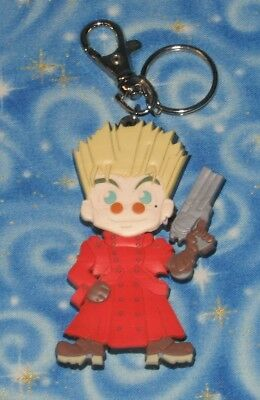 Trigun Vash Anime Die Cut Character Key Chain Official Release 1998 Excellent