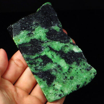 533.2Ct 100% Natural Red Green Bi Color Ruby In Zoisite Rough Specimen YGB102