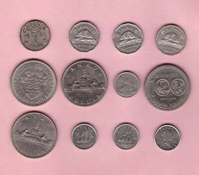 Canadian - Mixed Coin Collection Lot # A - World/Foreign/North America
