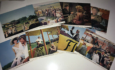 ACE ELI Movie Lobby Card Posters Set 1972 Barnstorming Airplane Stunt Pilot