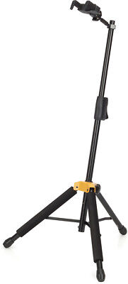 Hercules GS415B Premium Compact Guitar Stand Auto Grab System Holds 15kg New