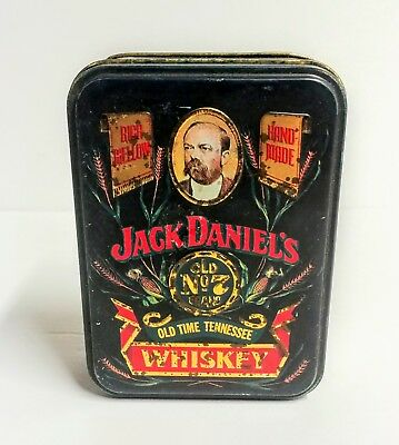 Jack Daniels Old No 7 Old Time Tennessee Whiskey Tin Box Only Collectible