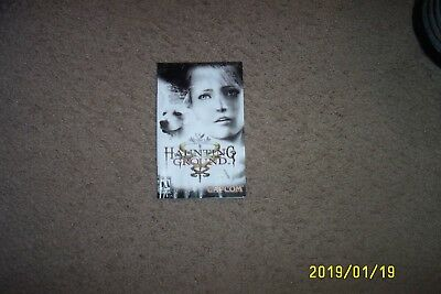 (Ps2) Haunting Ground (Instructions)--Selling Instructions Only W/ Water Damage