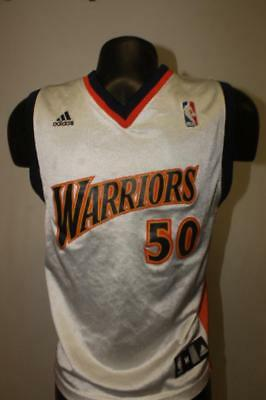 249c4ebe9f0 vintage Adidas GOLDEN STATE WARRIORS Youth Medium nba basketball jersey