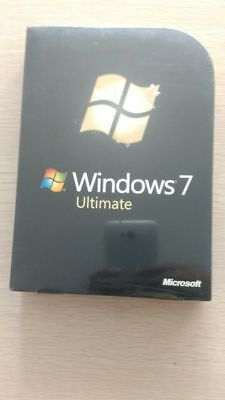 Microsoft  Windows 7 Ultimate 32/64 bit Retail -- DVD