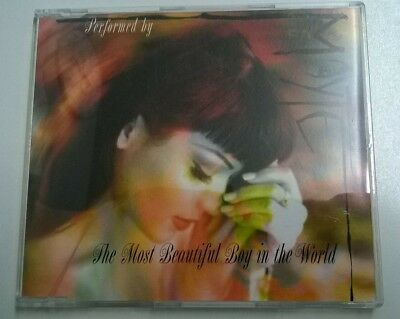 Mayte The Most Beautiful Boy In The World CD Single + Spanish Version - Prince