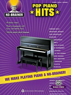No Brainer For Piano Hits Book Songbook Song Book Music Pvg Piano Vocal Guitar