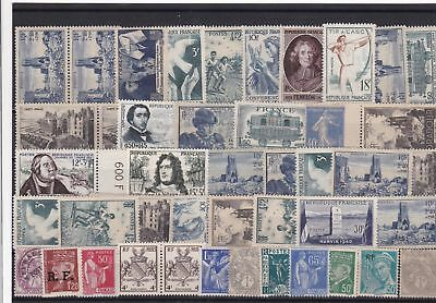 France mounted mint Stamps Ref 13973