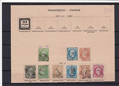 france early stamps ref 16348