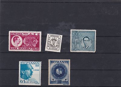 romania  mint stamps ref 16751