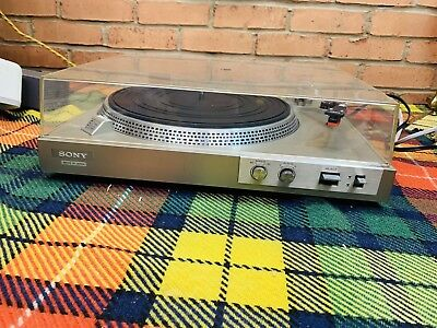 Sony PS-212 Direct Drive Turntable. Made In Japan.