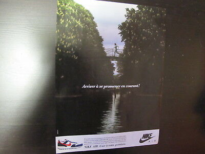 Nike Shoes Print Ad Clipping 1987