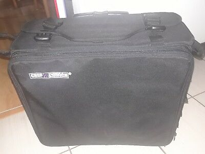 Crop In Style Lx Black Wheeled Scrapbooking Bag !!!