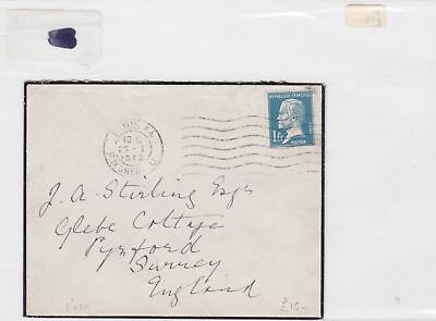 france 1926 stamps cover Ref 8472
