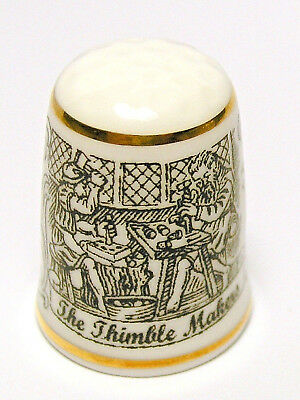Fingerhut Thimble von Davenport England - The Thimble Makers