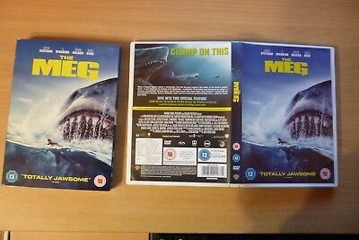 The Meg DVD [2018] - Watched Once