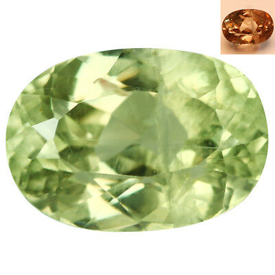 2.76Ct Incredible Oval Cut 9 x 7 mm AAA Color Change Turkish Diaspore