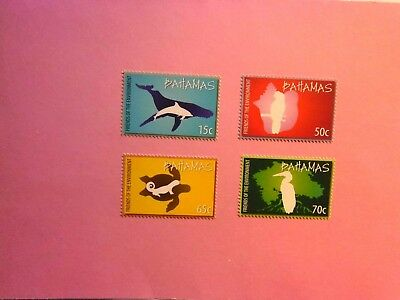 BAHAMAS: 2010  Friends of the Environment 4 values  MNH Sg1554/57