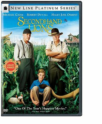 Secondhand Lions (DVD, 2005, Platinum Series) BRAND NEW