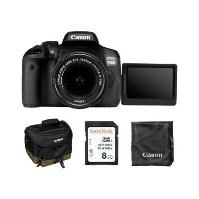 Canon Eos 750D EF-S 18-55 IS STM KIT BAG 8Gb