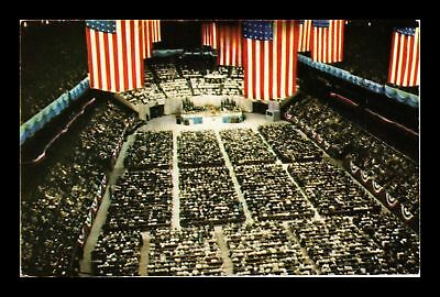 Dr Jim Stamps Us Madison Square Garden Billy Graham New York Crusade Postcard