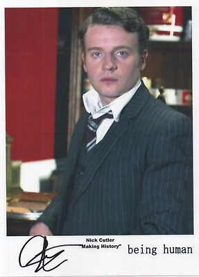 """Being Human Auto Photo Print Andrew Gower """"Nick Cutler"""""""