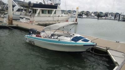Haines Signature Seaquell 4.6m Power boat