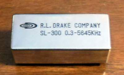 Drake SL-300 CW Filter for  the TR-7 and R-7 Ham Radio for 5646 kHz IF