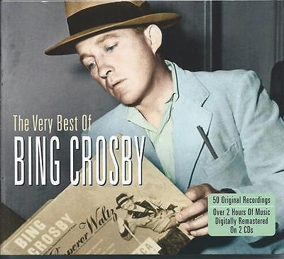 Bing Crosby - The Very Best Of - Greatest Hits 2CD NEW/SEALED