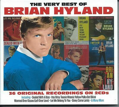 Brian Hyland - The Very Best Of - Greatest Hits 2CD NEW/SEALED
