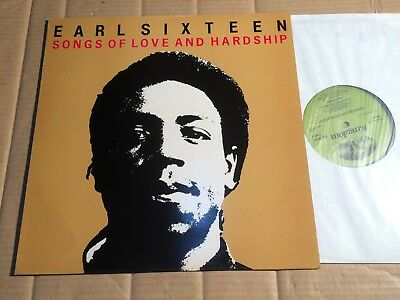 Earl Sixteen - Songs Of Love And Hardship - Lp - Uk 1984 (Di2834)