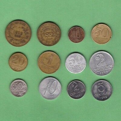 Brazil (1927-1969) - Coin Collection Lot - World/South America