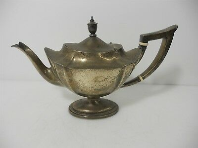 """Gorham Sterling Silver """"Plymouth"""" Teapot 644.7g"""