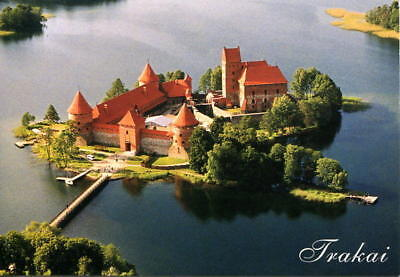 LITHUANIA: Trakai Island Castle - Modern 4X6 Picture Postcard UNUSED [5134]