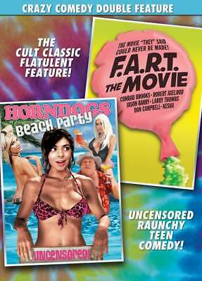 F.A.R.T. The Movie / Horndogs Beach Party DVD UNRATED - NEW